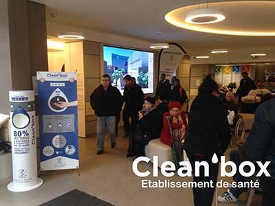 Clean'box Etablissement de Santé