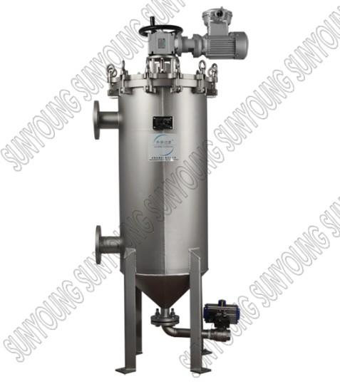 Mechanicall self-cleaning filter