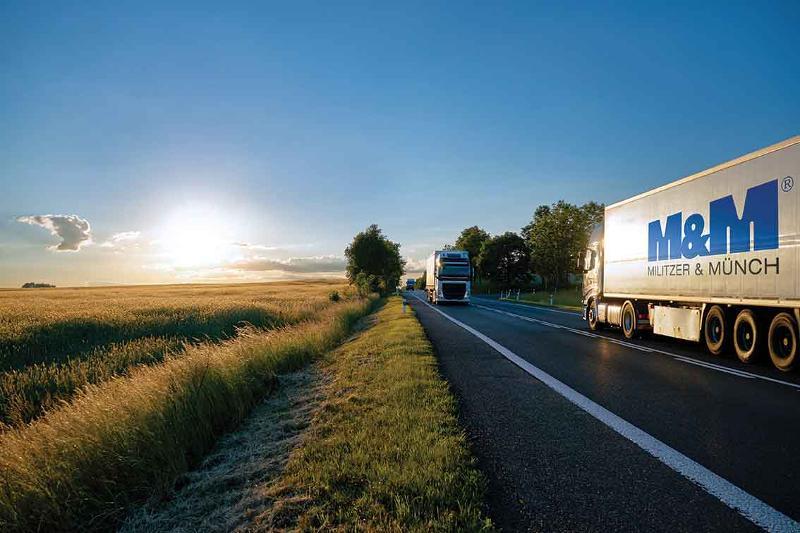 Militzer et Münch propose des départs bi-hebdomadaires et hebdomadaires en groupage (Maroc, Tunisie,...). De l'affrètement, des départs quotidiens en camion complet et d'autres solutions de transport.