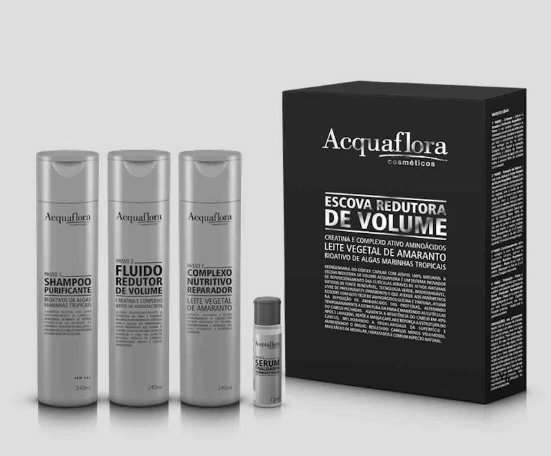 ACQUAFLORA. The Smoothy Therapy is for straiten of hair from curly hair, repair damaged hair for professional use, Keratin from Brazil, 3 x 240ml plus a serum.