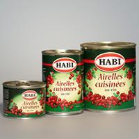 Airelles cuisinées Habi