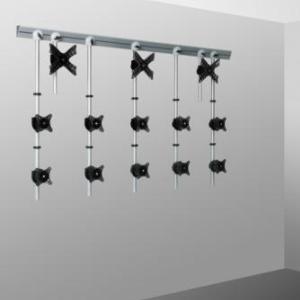 Support écrans pour créer un mur d'images, fixation Vesa