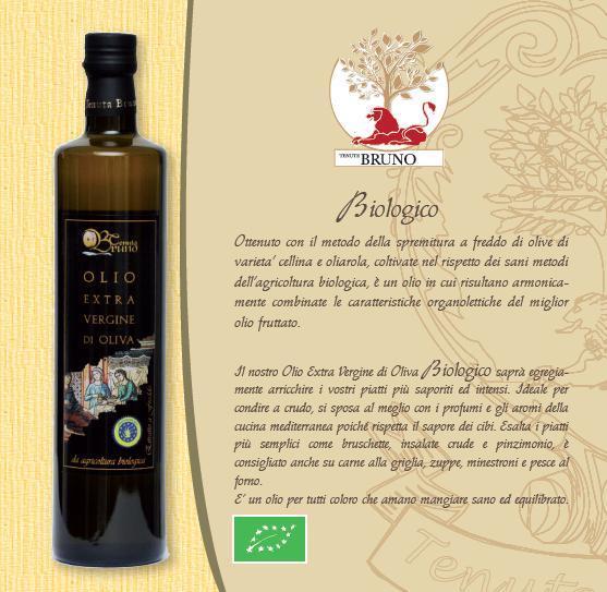 Biologisches extra vergine Olivenöl
