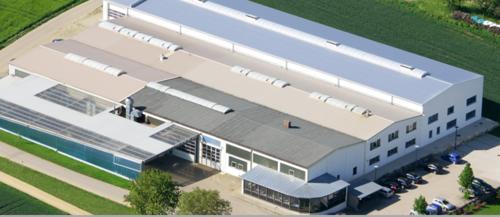 Firmensitz - Luftaufnahme