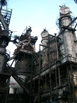 picture of the blast furnace shop