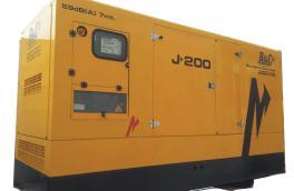 Gruppo elettrogeno -generatore di corrente SUPER SILENZIATO da 200kVA con motore FPT (FIAT) diesel turbocompresso-intercooler, common-rail a controllo eletronico accoppiato ad alternatore STAMFORD.