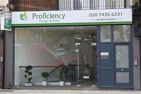Proficiency Front shop