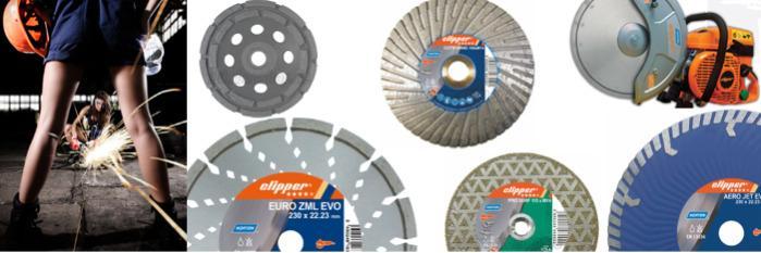Diamantwerkzeuge für Winkelschleifer, Trennschleifer & Co