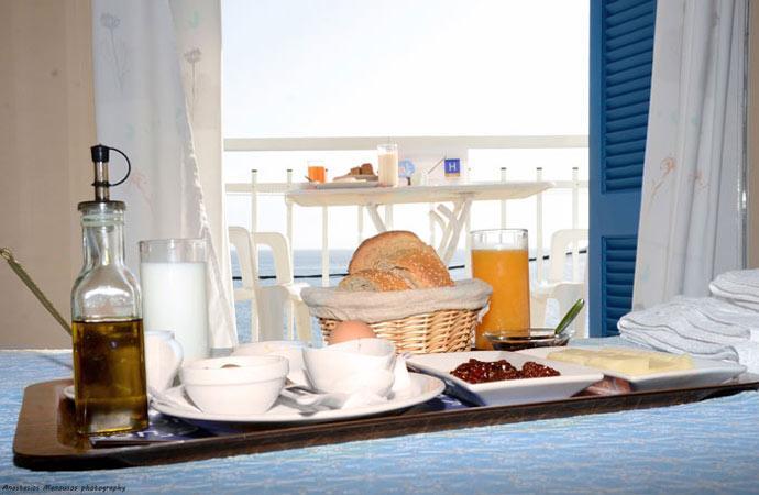 Certified Tsakonian Breakfast in our Hotel in Peloponnese Greece
