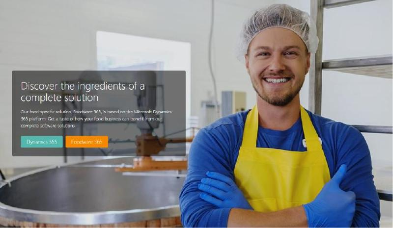 The foremost food solution based on Dynamics 365