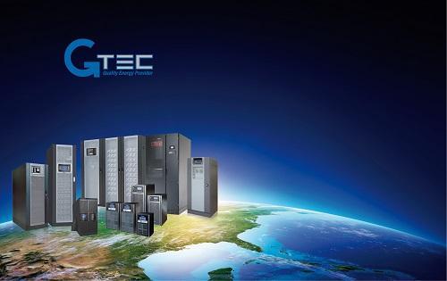 Visualisation de la gamme des onduleurs (UPS, ASI). G-TEC est présent dans plus de 50 pays dans le monde. Notre offre répond à toutes les exigences dans des puissances de 650 VA à 900 kVA