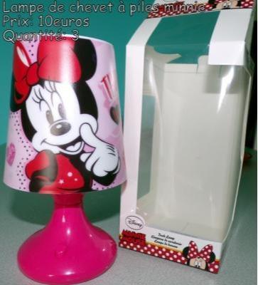 Lampe de chevet Minnie