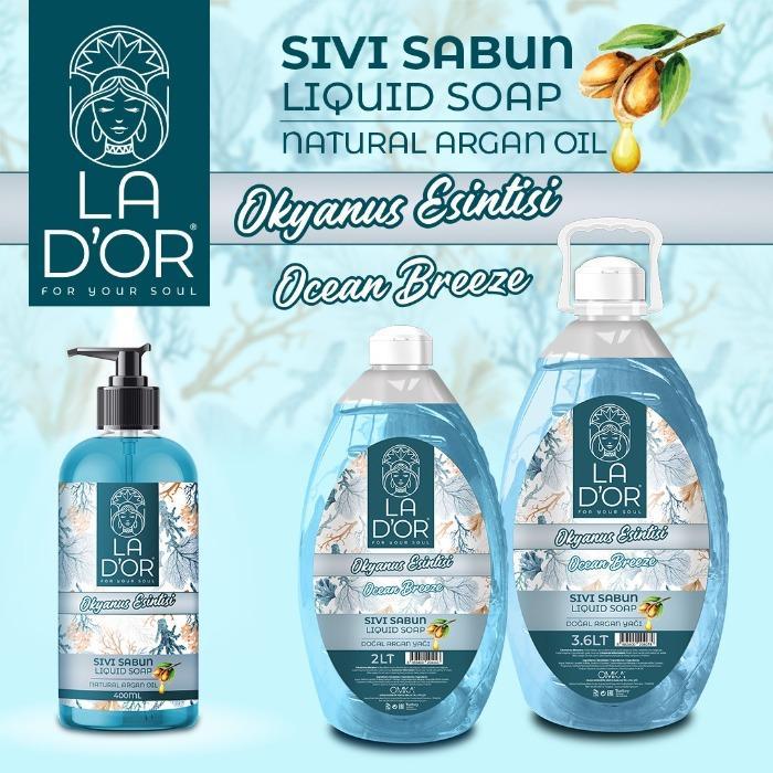 LA D'OR liquid soap - ocean breeze