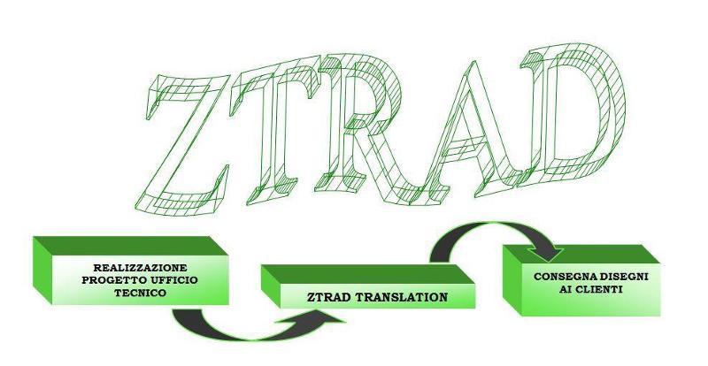 ZTRAD software per le traduzioni tecniche di disegni Autocad e Microstation in modo automatizzato dentro il processo produttivo aziendale. www.ztrad.it