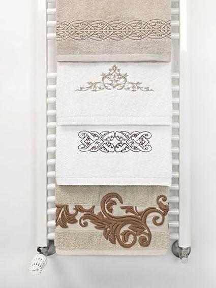 toalhas com bordados