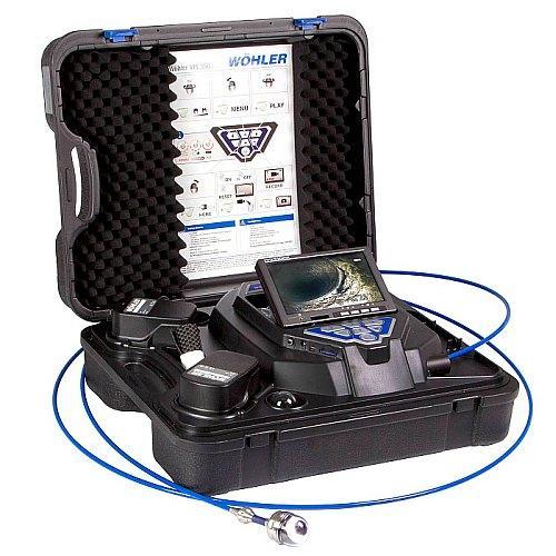 Sind Abwasserrohre, Abgas- und Lüftungsleitungen oder Industrieanlagen zu untersuchen, haben Sie mit dem Kamerasystem alles dabei.