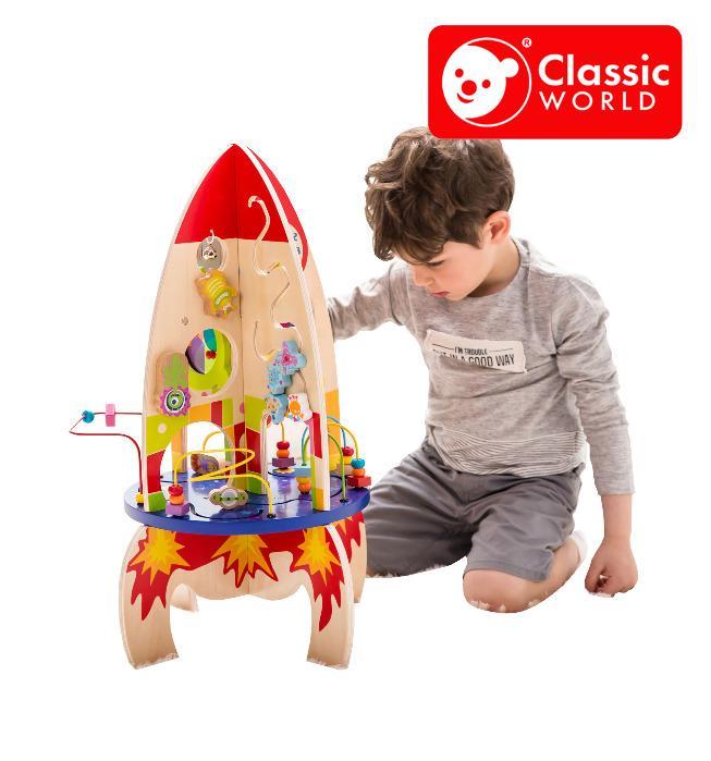 CLASSIC WORLD Multi-activity Rocket