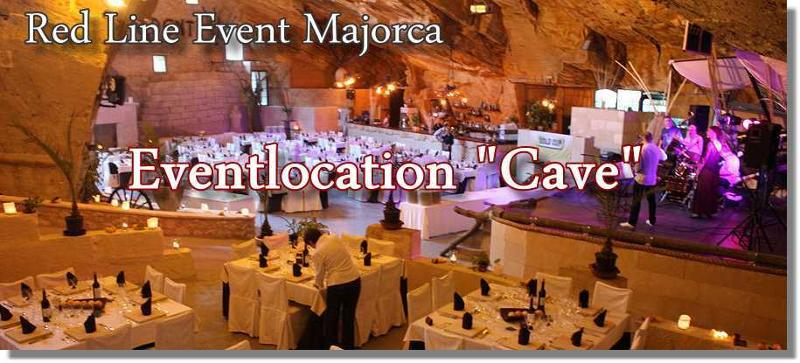 Extraordinary Locations for extraordinary Events in Majorca. Unique event location in a sandstone cave on Majorca. Maximum capacity 1.200 pax.