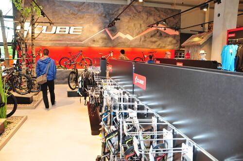 Ladenbau Cube Bikes