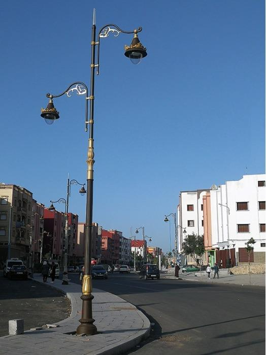 Morocco Lighting Pole Project