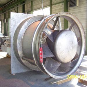 Eine besondere Kompetenz von MEIERLING liegt im Engineering und in der Fertigung von Heißgasventilatoren bis 1150 °C.