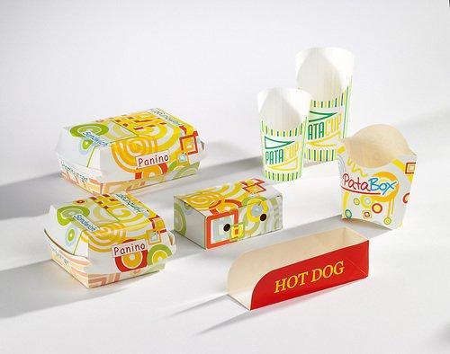 Fast Food Verpackungen