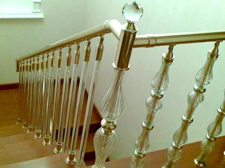 Glass handrail System, Balustrade,