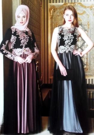 tenue de soirée pour hijab +robe de soirée ou habillée