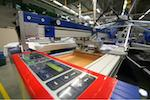 In-house Screen Printing. We are able to print up to 12 colours per design with our MHM screen printer operated by highly professional staff within the industry.