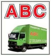 Nasz samochód meblowóz z naszym logo firmy - ABC Przeprowadzki Kraków Transport.