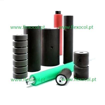 Flexocol is a tailor made manufacturer of wheels, rollers and cylinders, with rubber, silicone or polyurethane coating.