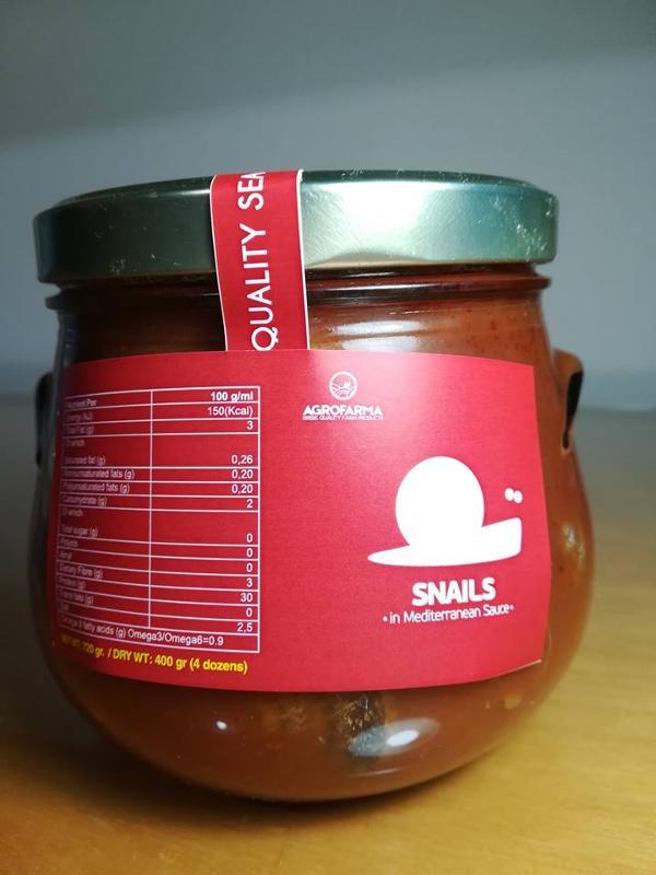 Snails in Mediterranean Sauce