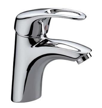 one lever washbasin mixer, with pop-up waste