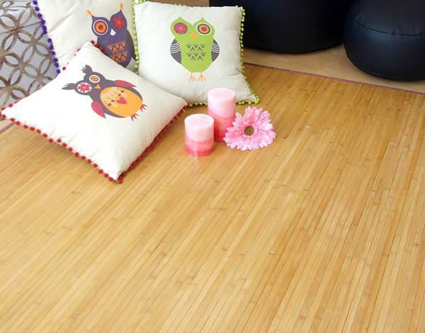 Especializados en alfombras de bambú, con gran variedad de texturas, medidas y colores.
