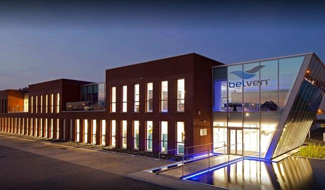 Belven HQ night view