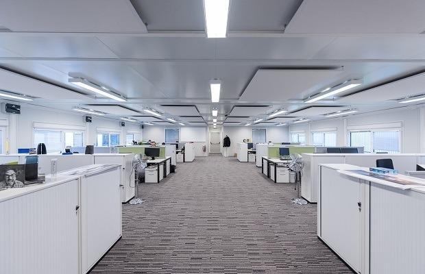 Portakabin- client Goodyear bureaux
