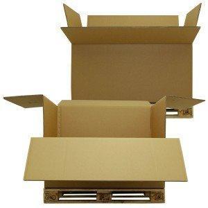 Speditionsbehälter-Karton aus Wellpappe