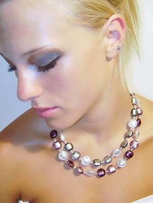 Original Murano Glass necklace. MADE IN ITALY. original design Venezia Classica