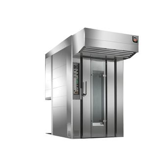 This oven is a result of technical expert, experience and accurate design. This rotary oven features exclusive contours and painstaking attention to details in all aspects.