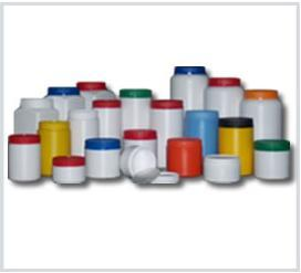 Hdpe plastic tamper evident jars from 200 ml. up to 3 lt. in different shapes for many sectors .