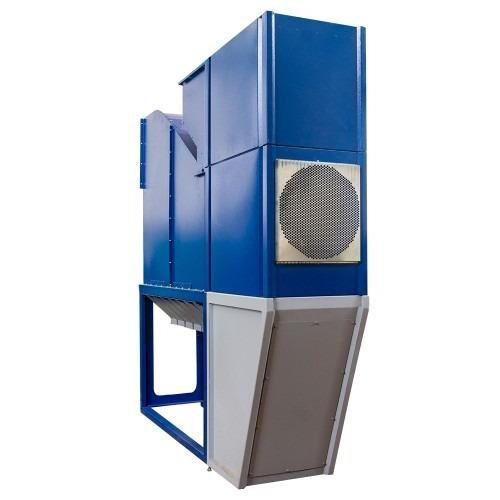 Grain cleaner without sieve, for cleaning and calibration, capacity 15 t / h