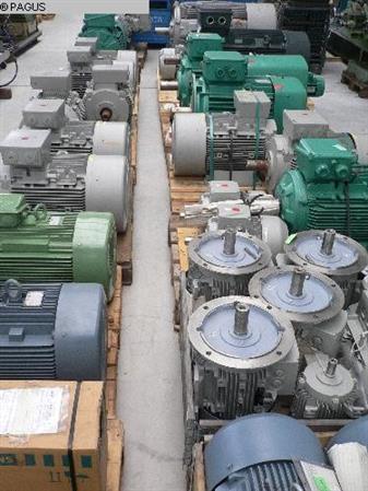 Type of machine Motor Make SIEMENS, VEM, LOHER Type Elektromotoren
