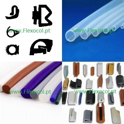SILICON PROFILES, CORDS AND TUBES