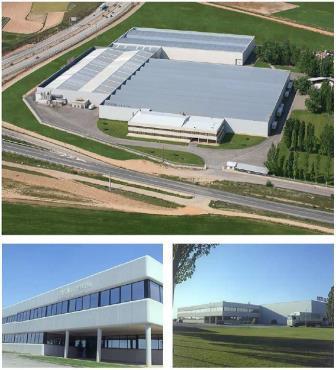 Imágenes de la Sede de la empresa Castilla Textil