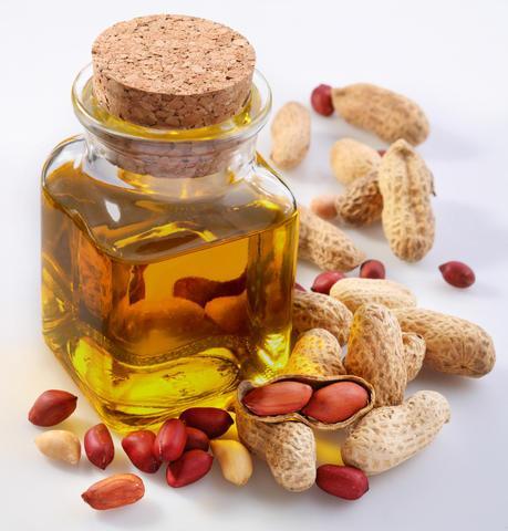 l'huile d'arachide