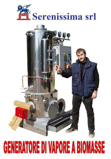Small steam boiler, using fuel like oil,gas,log wood,wood pellet. Power of 50 to 500kg/h, pressure of 1 to 6 bar.