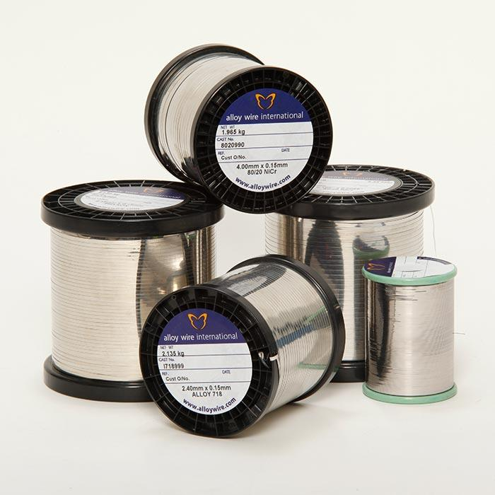 A selection of Alloy Wire Spools