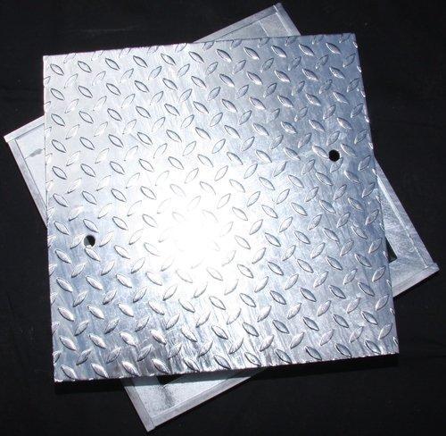 Schachtabdeckungen mit Winkelrahmen