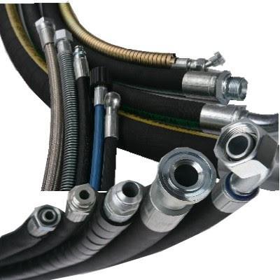 Tubi flessibili assemblati per applicazioni oleodinamiche e fluidodinamiche.