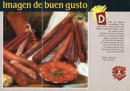 Embutidos Don Hilarión es una empresa dedicada a la venta de embutidos y productos selectos del cerdo. Productos de gran calidad en La Rioja.